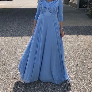 Dresses & Skirts - Light blue gown